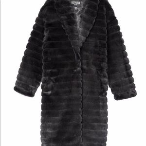 Victoria's Secret Faux Fur Coat